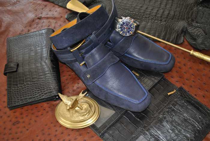 Туфли замшевые (52)