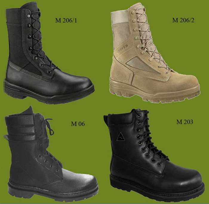 Ботинки военные (берцы)