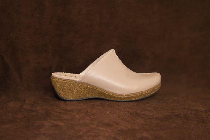 Женские туфли (бежевые) E 97