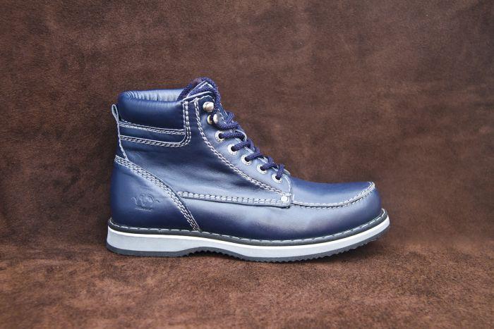 Зимние ботинки 609 (blue)