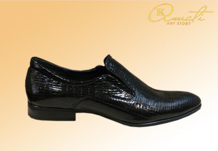 Туфли лаковые кожаные 0990