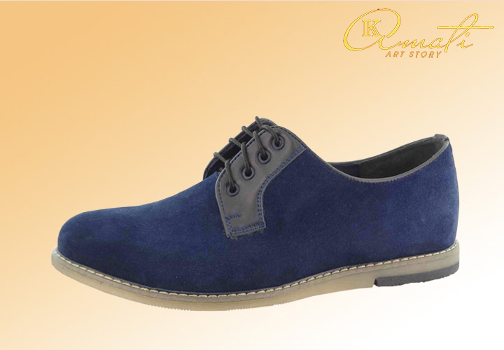 Замшевые мужские туфли оптом