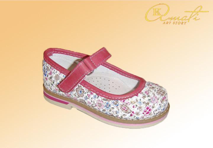 летняя обувь для девочек 60118-51-778