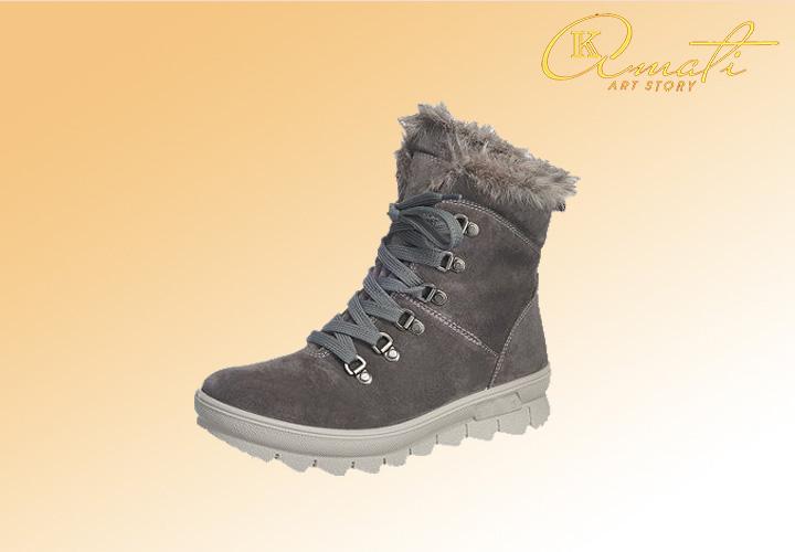 ботинки с мехом женские n0954