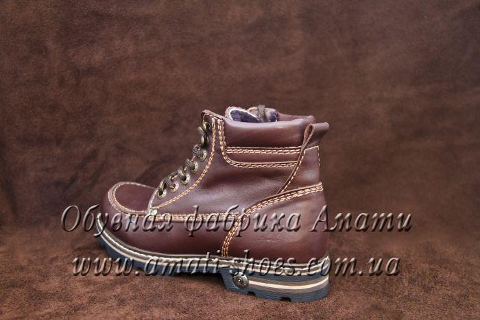 Зимние ботинки 609 (red)