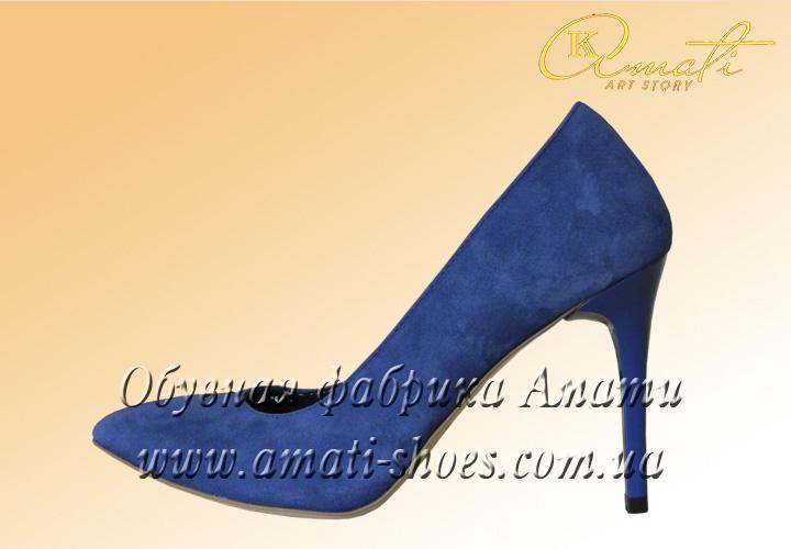 туфли на шпильке 9536